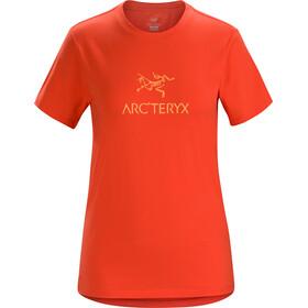 Arc'teryx Arc'Word Camiseta Manga Corta Mujer, aurora
